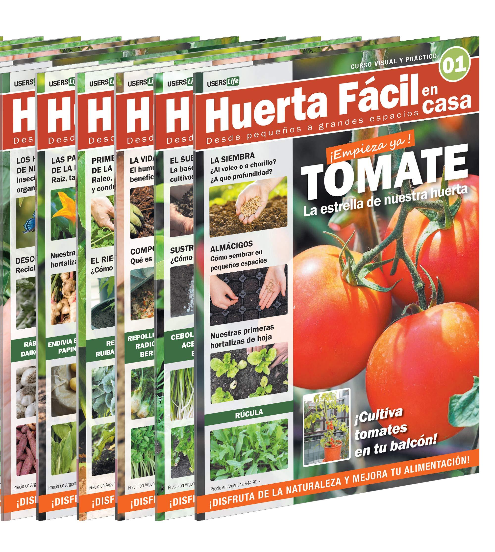 HUERTA FACIL en CASA (Spanish Edition): Darío Schiavinato ...