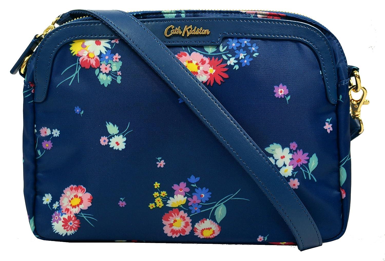 084f6e02744e Cath Kidston Busby Bunch Mini Busy Cross Body Womens Handbag One Size Navy   Amazon.de  Schuhe   Handtaschen