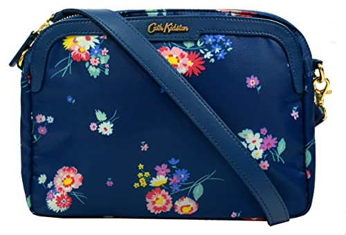 bcc9f0f7f1 Image Unavailable. Image not available for. Colour  Cath Kidston Mini  Shoulder Bag Busby Bunch Floral Navy