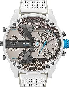 Diesel Reloj Analógico para Hombre de Cuarzo con Correa en Cuero DZ7419