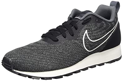 Nike - MD Runner 2 Eng Mes - 916774002 - Color: Black-White -