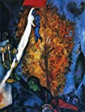 Marc Chagall - The Tree of Life, Size 24x32 inch, Poster Art Print Wall décor