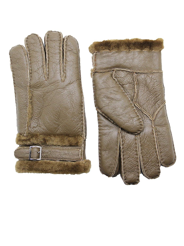 Damen Echt Leder Handschuhe Gefüttert Gr S 6,5 M 7 L 7,5 XL 8 XXL 8,5  //L//54//