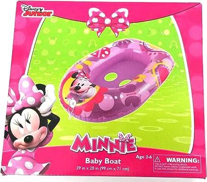 Amazon.com: Disney Minnie Mouse bote para bebé, flotador ...