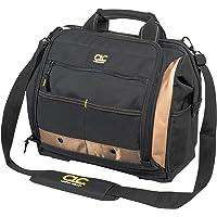 CLC Custom Leathercraft 1537 Porta-ferramentas com vários compartimentos, 30 bolsos, 33 polegadas.