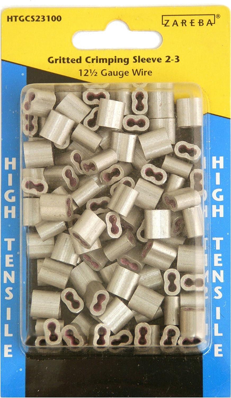 Zareba HTGCS23100 Gritted Crimping Sleeve 2-3