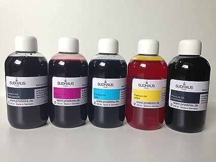 Refill Impresora de tinta Set de tinta Recarga 5 x 100ml ...