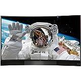 TCL U55S8866S 140 cm (55 Zoll) Curved Fernseher (Ultra HD, Triple Tuner, Smart TV) schwarz [Energieklasse A+]