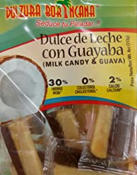 Dulzura Borincana Dulce de Leche con Guayaba (Milk candy with guava)