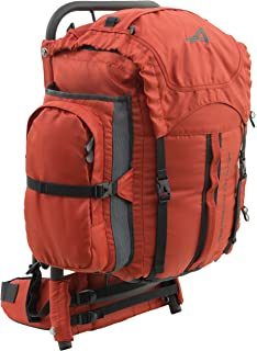 alps mountaineering red rock external frame pack 34 liters