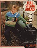 """Children's Thomas The Tank Engine, James Engine and the Fat Controller Motif Cardigan Knitting Pattern: To fit chest 22"""", 24"""", 26"""", 56cm, 61cm, 66cm (Magazine Pull Out Pattern)"""