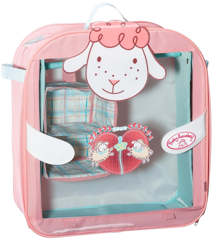 Zapf Creation Baby Annabell Wardrobe Amazoncouk Toys - Anna bell baby wardrobe