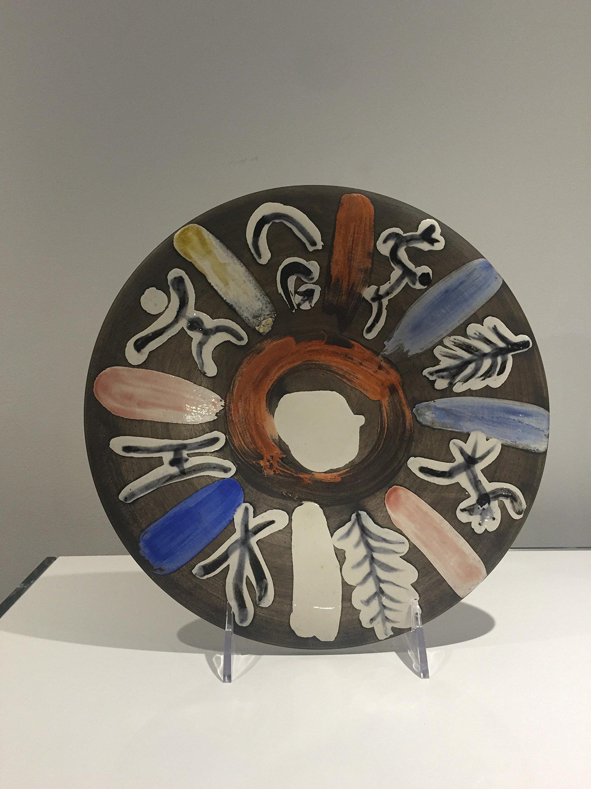Ramie 465 Motifs Number 45 Picasso Madoura Ceramic