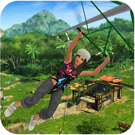 Mega Zipline Sky Adventure - Mega Harness