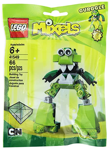 Amazon.com: LEGO Mixels Mixel Gurggle 41549 Building Kit: Toys & Games