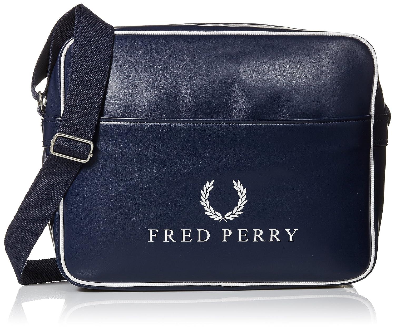 Fred Perry Vintage Homme Shoulder Bag Bleu L3213