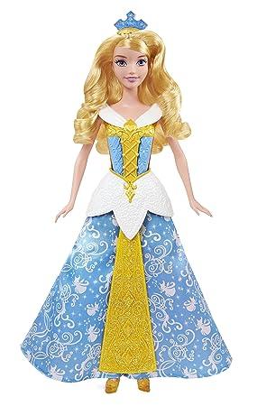 disney princesses cbd13 poupe princesse aurore robe enchante