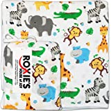 Everything Cotton Baby Toddler Blanket - Security Stroller Crib Registry, Jungle