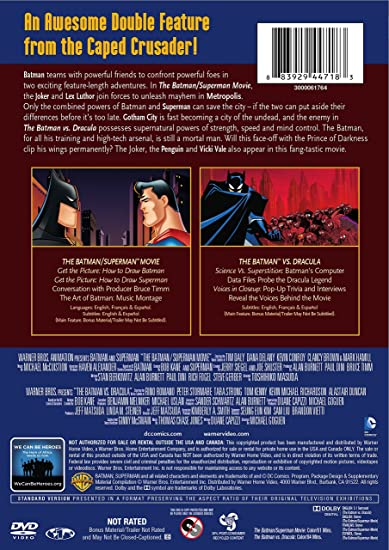 Amazon.com: The Batman: Double Feature Repackage (Single ...