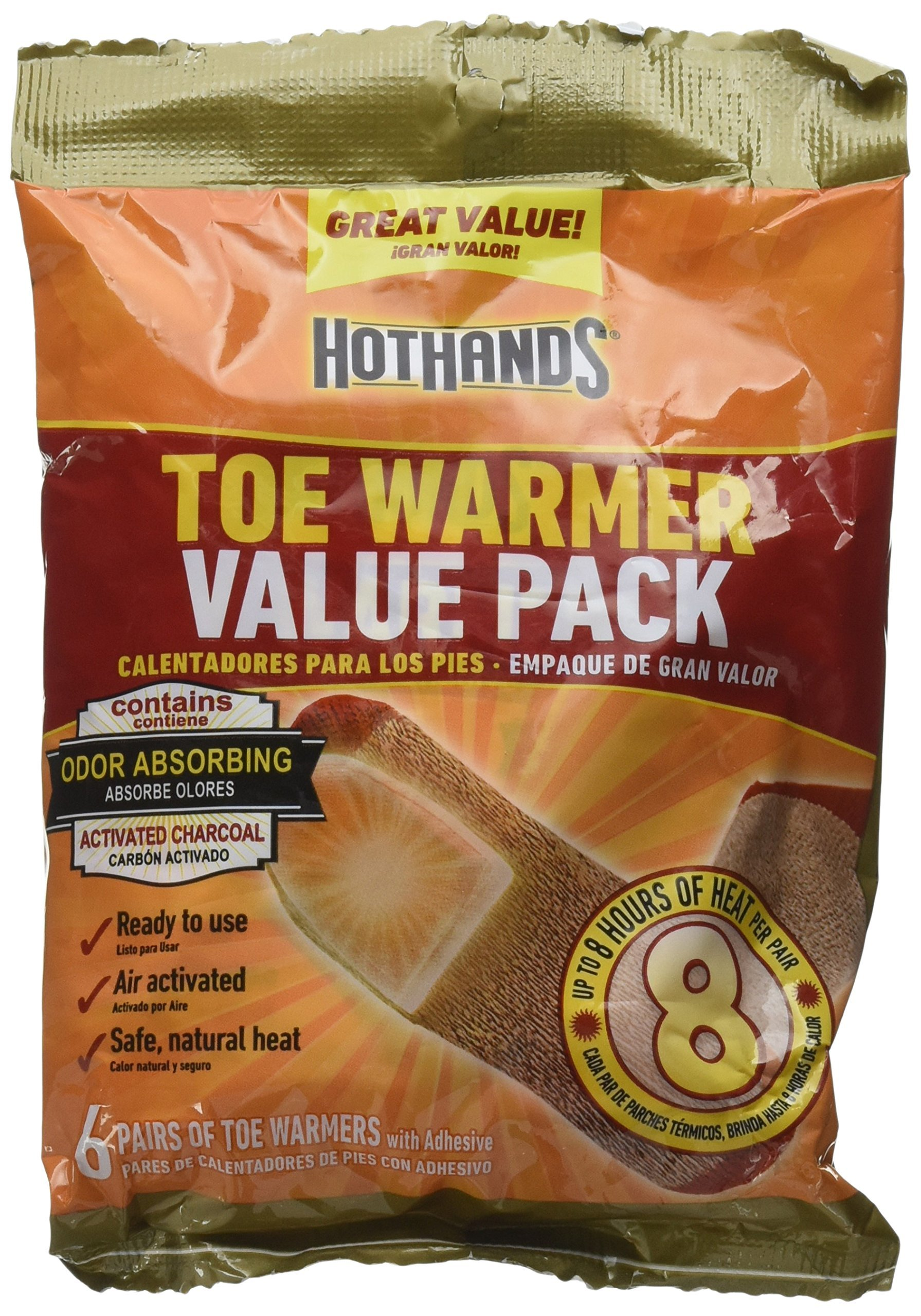 HotHands Adhesive Toe Warmer, 24 Pair Value Pack