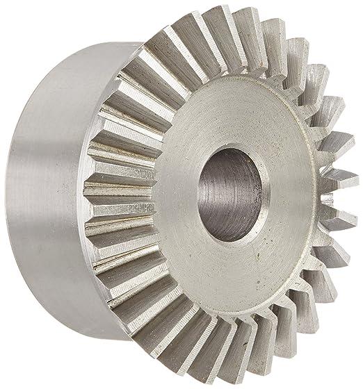 Straight Bevel 20 Degree Pressure Angle Keyway 36 Teeth 0.250 Bore 2:1 Ratio Brass 24 Pitch Boston Gear G485Y-G Bevel Gear
