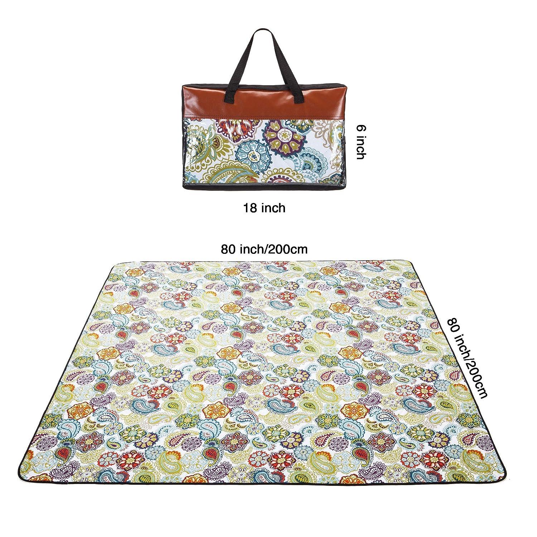 Amazon.com: YAPA - Manta de picnic, resistente al agua, para ...