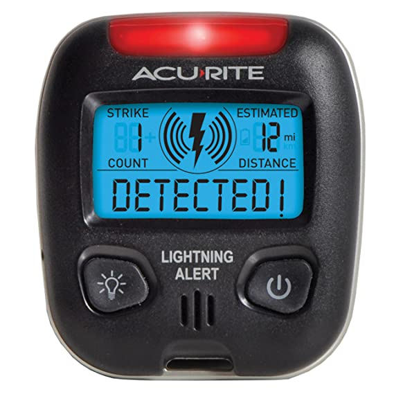 Acu Rite 02020 Portable Lightning Detector by Acu Rite