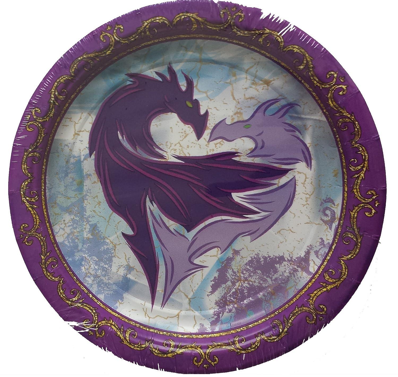 8-Count AMNSX 5832328 American Greetings Descendants Paper Dessert Plates