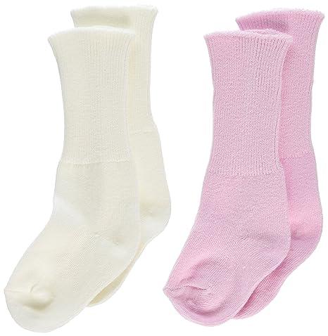 Poco Camarón bebé recién nacido Niñas par de calcetines en caja con ...