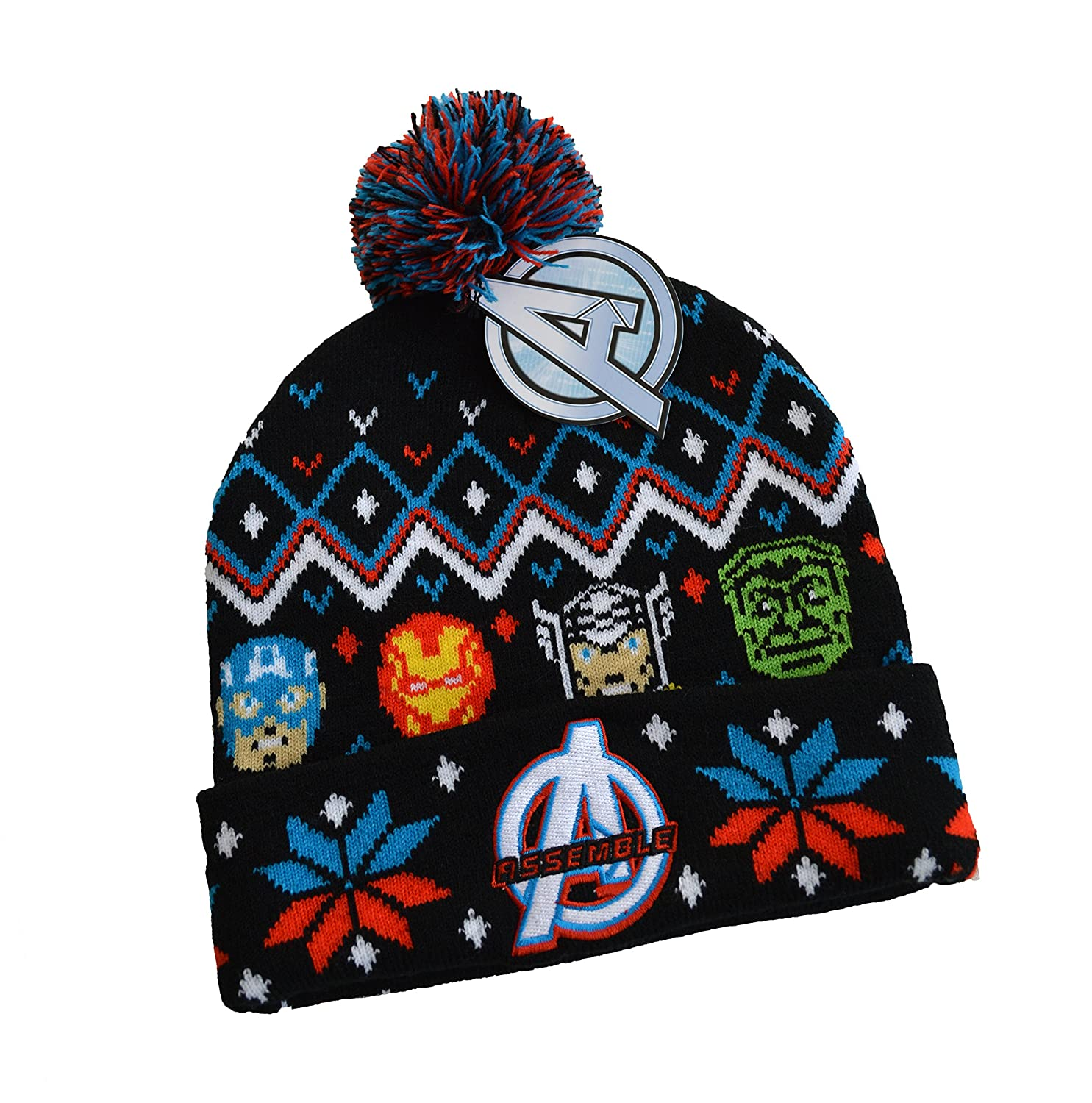 Marvel AVENGERS Fair Isle Winter Knit Hat
