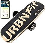 URBNFit Wooden Balance Board Trainer - Roller Board for Snowboard, Surf,