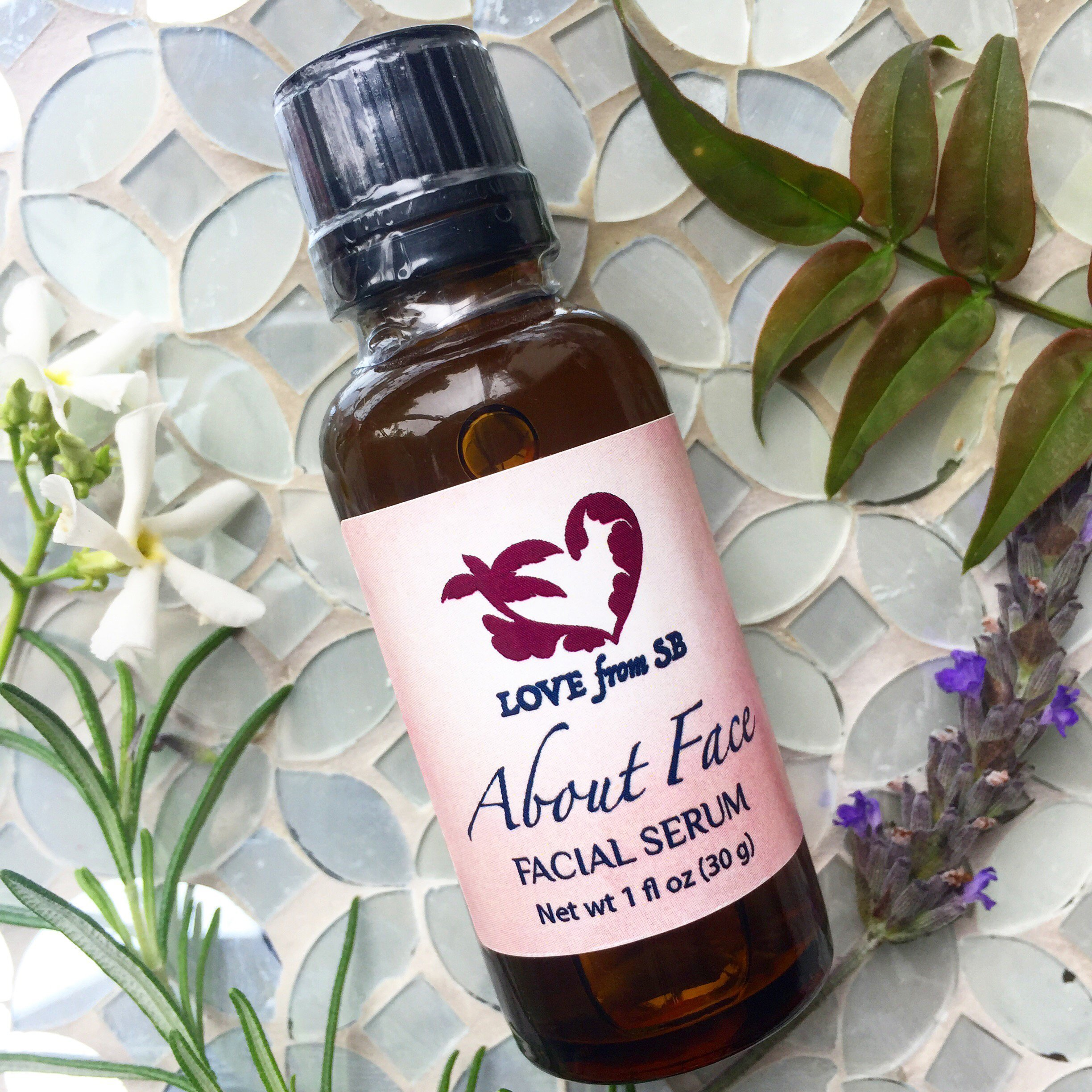 About Face Facial Serum | Soften Rehydrate Nourish Protect and Help Reduce Fine Lines