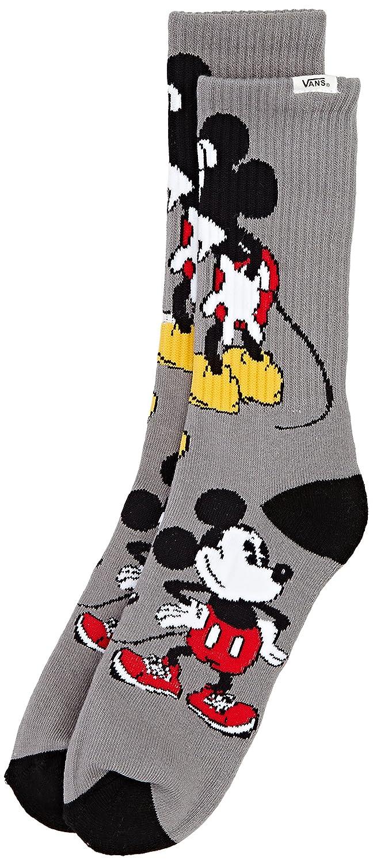 Vans Mickey Mouse Crew (9.5-13, 1PK) - Calcetines para Hombre, Talla única: Amazon.es: Deportes y aire libre