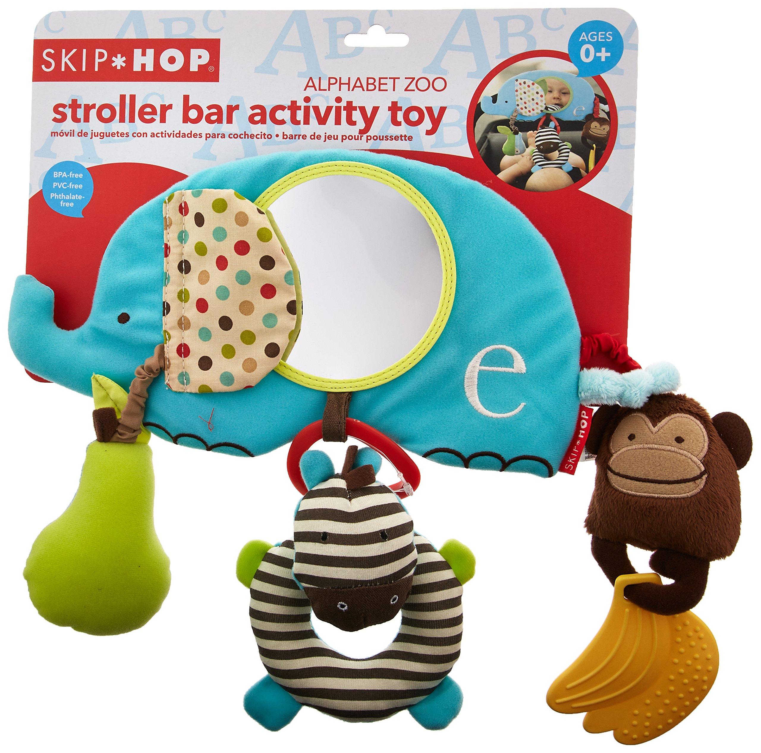 Skip Hop Alphabet Zoo Stroller Bar Activity Toy, Multi by Skip Hop (Image #2)