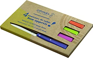 Opinel Set of 4 Table Knives No.125 Bon Appetit Pop