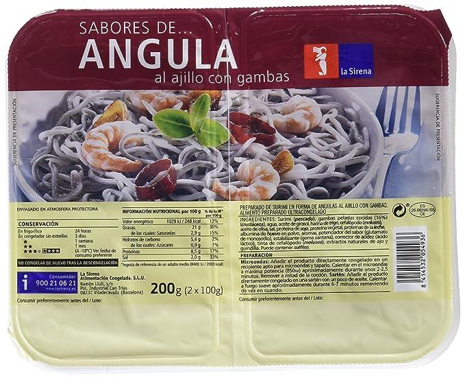 Sabores Angula Al Ajillo/Gambas 2X100G