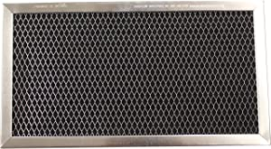Carbon Range Filter Compatible With Amana W10190762A, GE JX81C, GE WB02X10776, GE WB02X11495, GE WBX02X10776, LG/Zenith 5230W1A011B,C-6212,RCP0410;4-7/8 x 7-3/4 x 3/8; 1 Pack