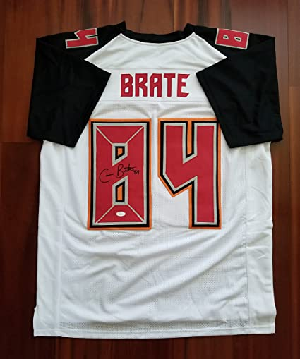 d80f01ad4 Cameron Brate Autographed Signed Jersey Tampa Bay Buccaneers JSA at ...