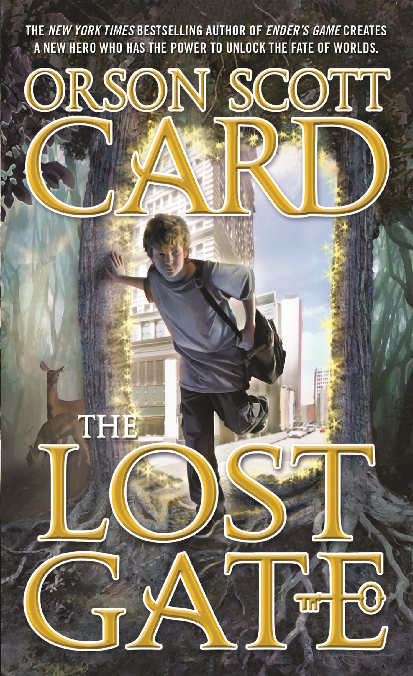 The Lost Gate (mither Mages): Orson Scott Card: 9780765365385: Amazon:  Books