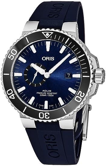 Oris Aquis Reloj de hombre automático 45.5mm 01 743 7733 4135-RS65: Oris: Amazon.es: Relojes