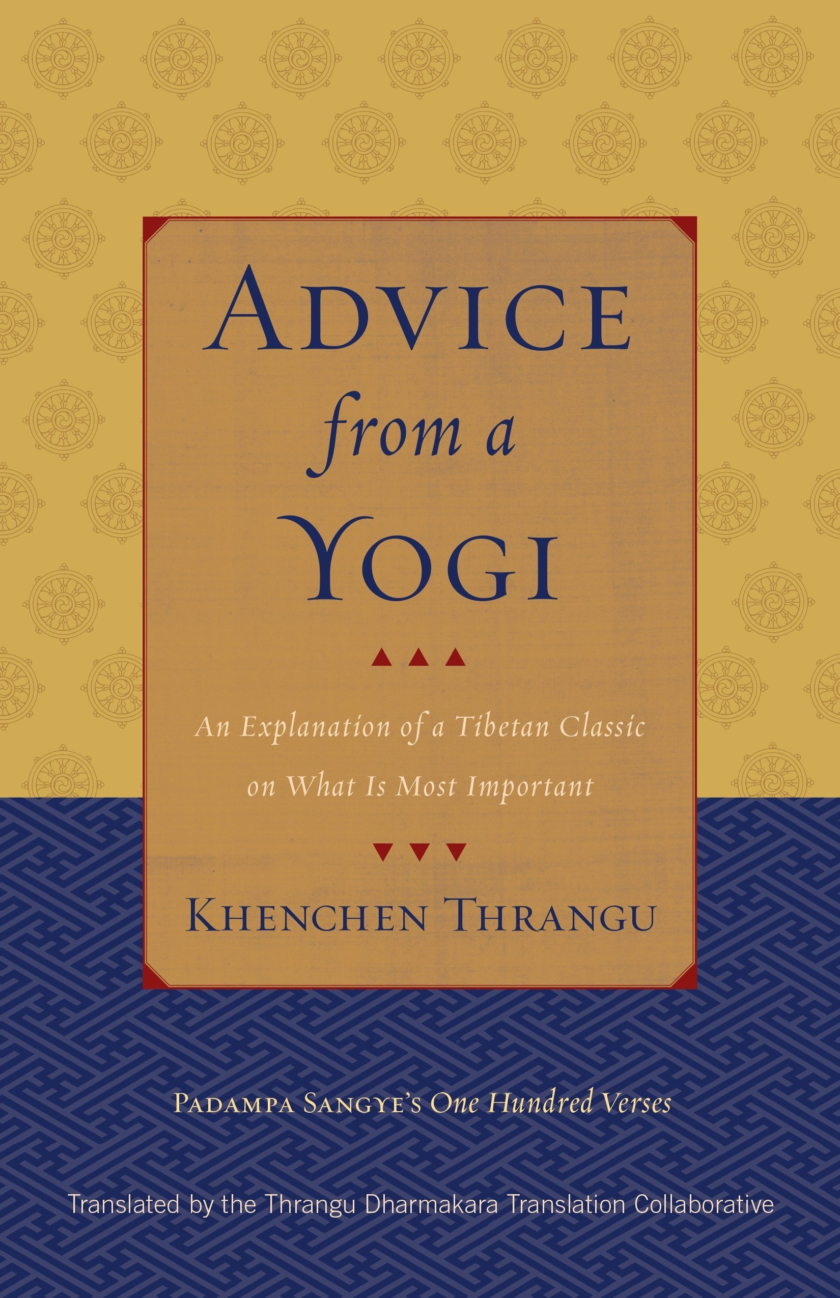 Advice from a Yogi: An Explanation of a Tibetan Classic on What Is Most Important pdf epub