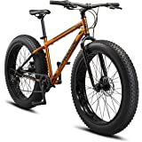 Mongoose Argus and Argus ST Kids/Youth/Adult Fat Tire Mountain Bike, 20-26-Inch Wheels, Mechanical Disc Brakes, Multiple Colo