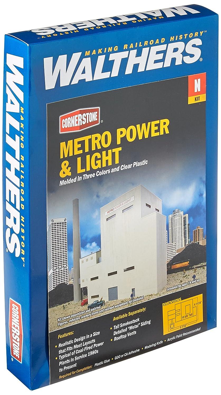 Walthers, Inc. Metro Power & Light Kit, 97 16 X 411 16 X 105 8  23.9 X 11.9 X 26.9cm