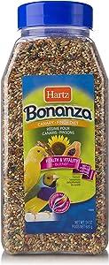 Hartz Bonanza Health & Vitality Blend Canary And Finch Food - 24Oz