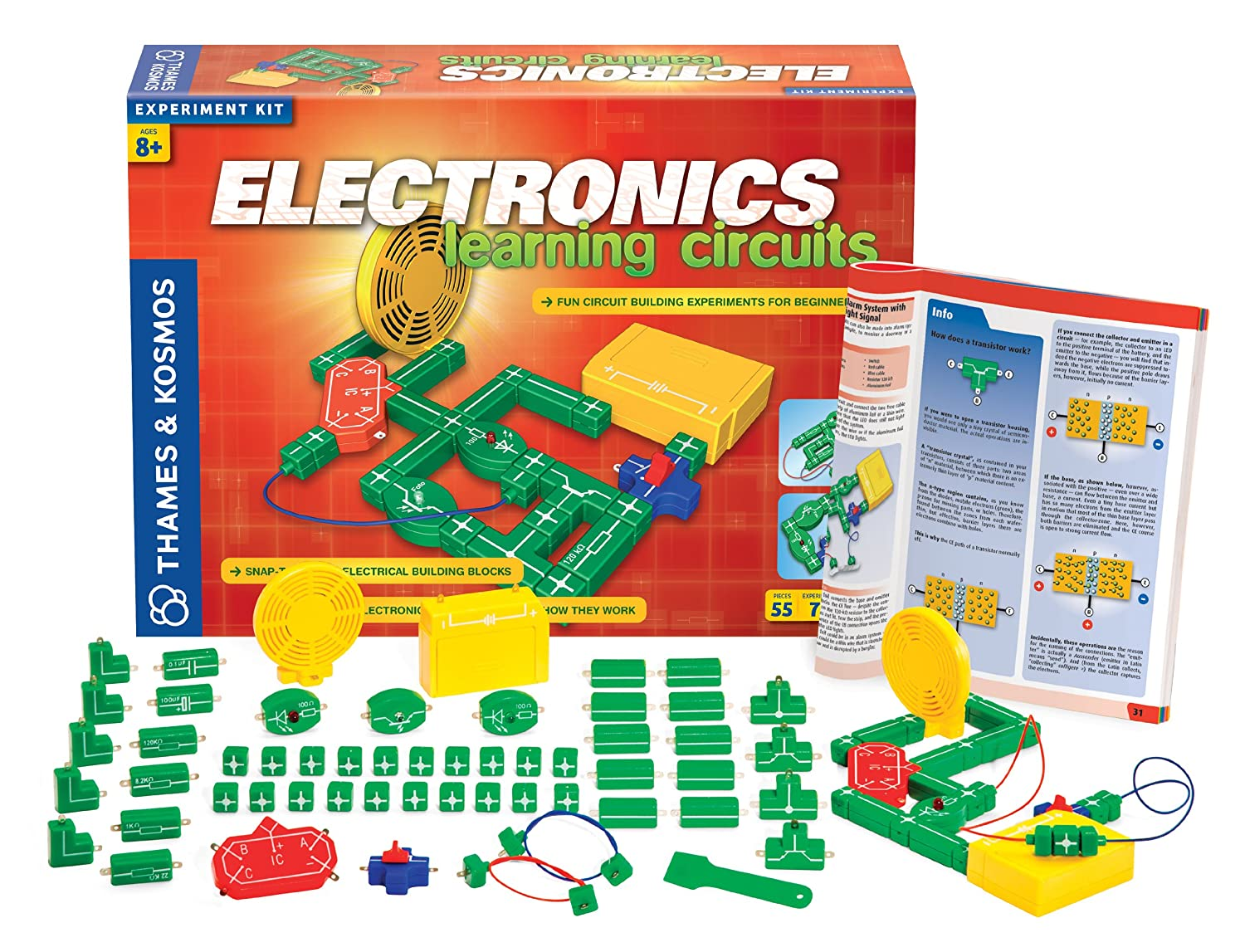 Thames Kosmos Electronics Learning Circuits Electricity And Toys Games