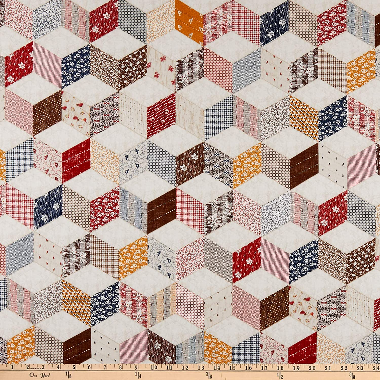 END BOLT! Animal Farm from Windham Fabrics Kids Fabrics 1 Yard Cotton Fabrics Farm Fabric Collection by French Bull