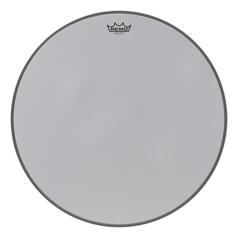 Remo SN1022-00 Silentstroke Mesh Bass Drum Head (22-Inch) SN-1022-00