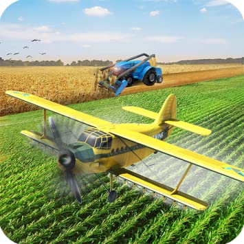 Amazon com: Futuristic Farming Simulator 2019 | Flying Drone