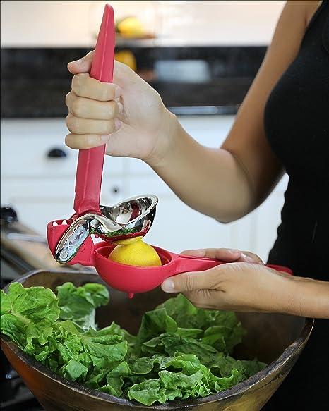 Durable lemonaid cuña de limón exprimidor y licuadora con cómodas asas de nailon por robinsongrayworks | para Bar o Cocina: Amazon.es: Hogar