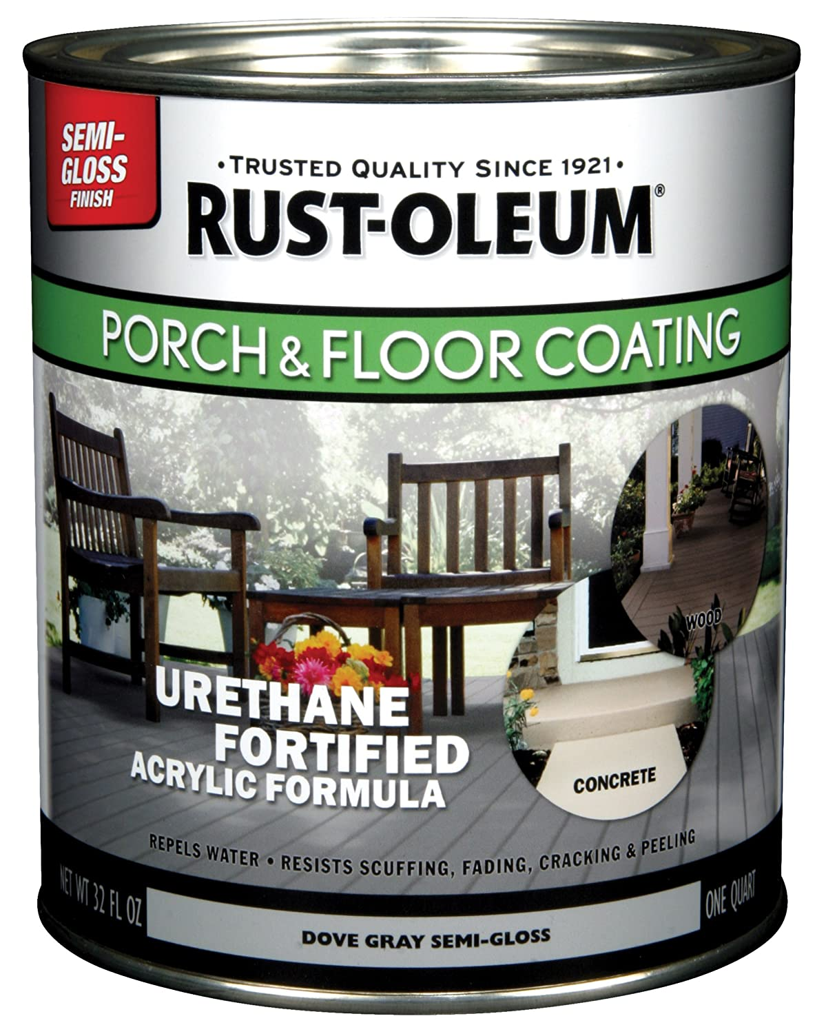 4. Rust-Oleum 244163 Porch Floor Paint